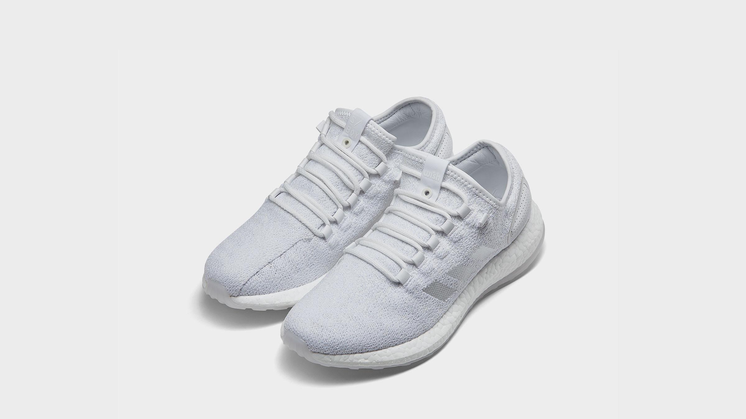 c515a216d Adidas x Sneaker Boy x Wish PureBoost White
