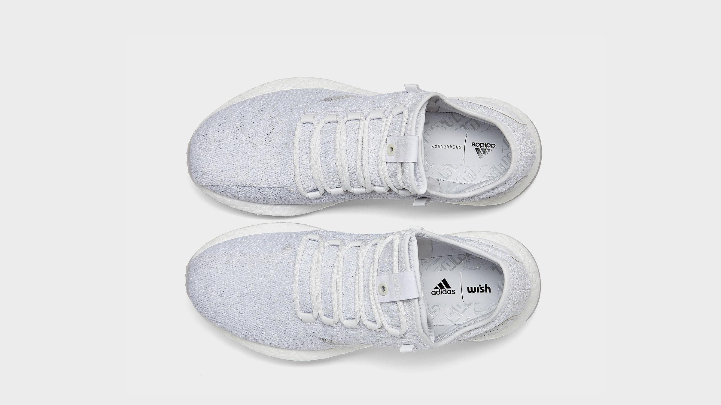 b31954569cb4f Adidas x Sneaker Boy x Wish PureBoost White