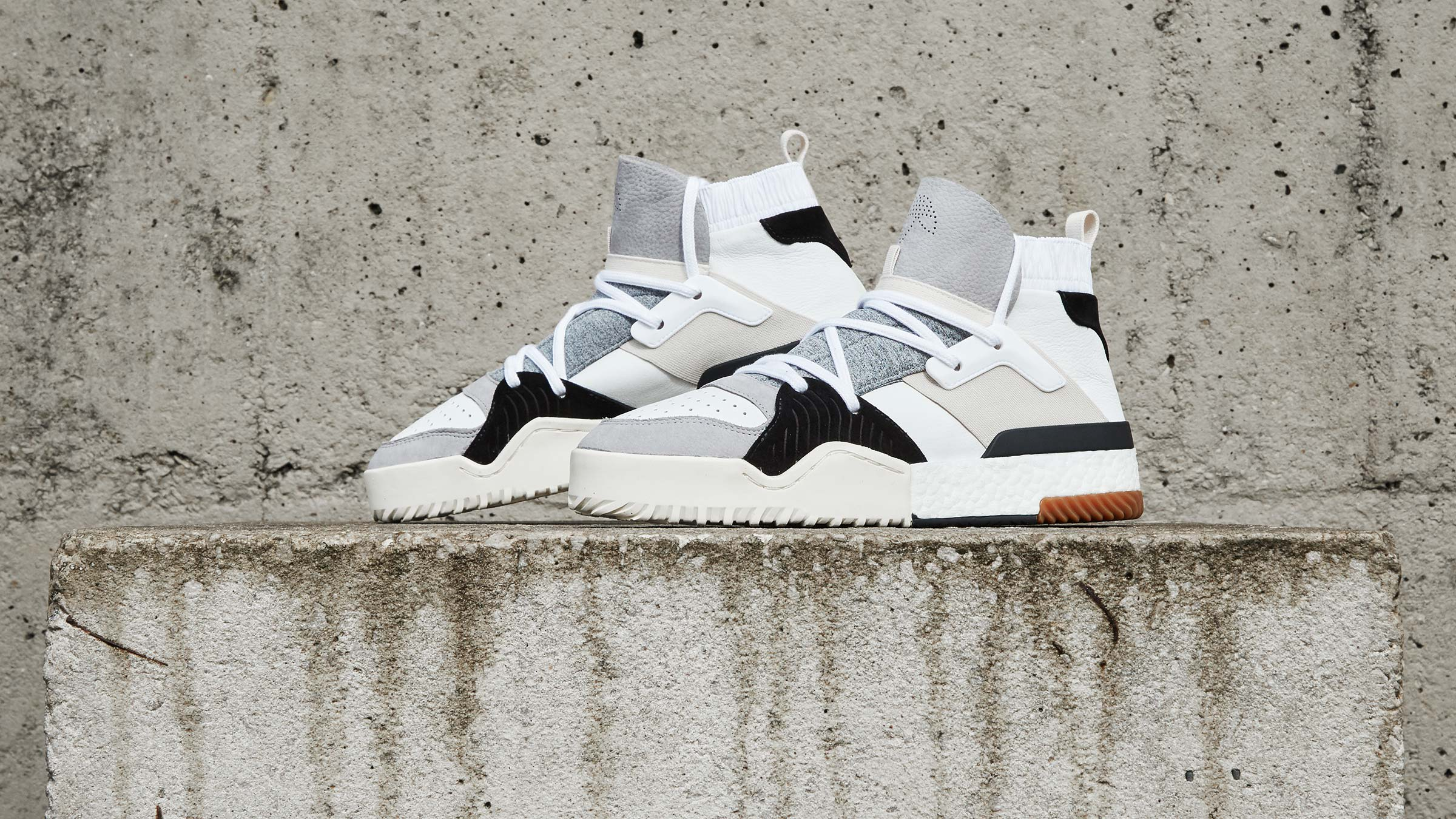 adidas X Alexander Wang BBALL Boost Leather White CM7824 ALL SIZES 3 11