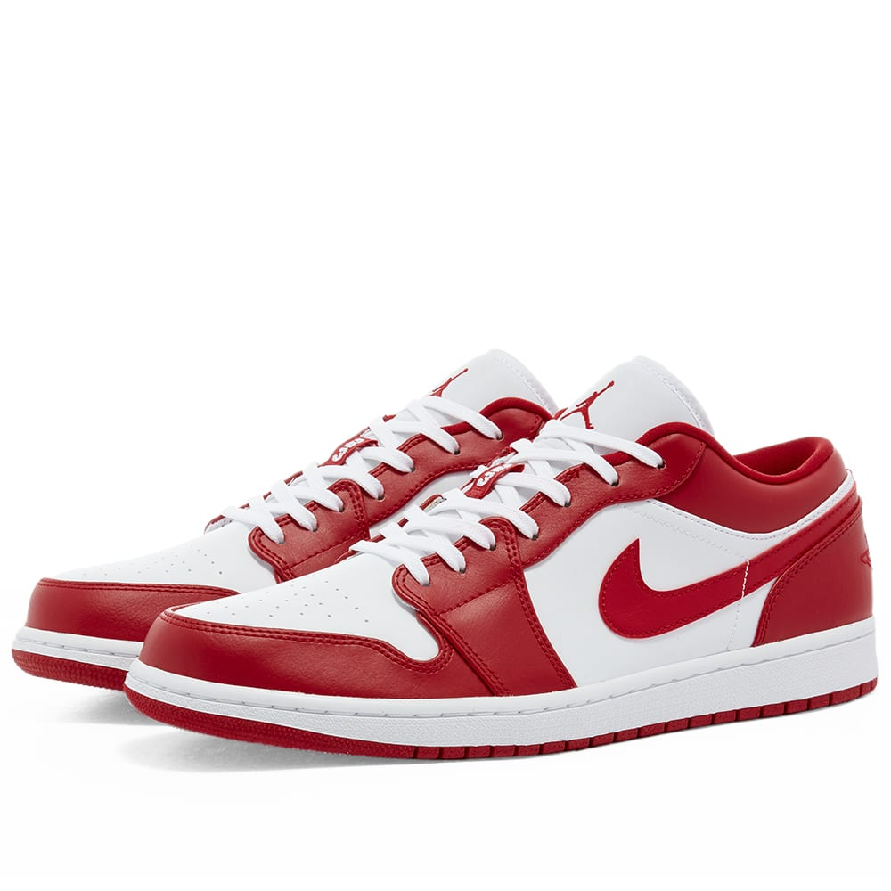 Air Jordan 1 Low Gym Red White End
