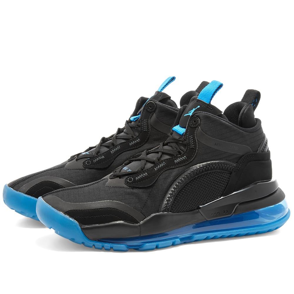 Air Jordan Aerospace 720 Black \u0026 Blue