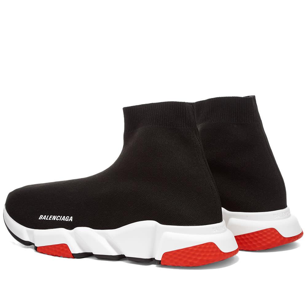 Balenciaga Speed Sneaker Black, White