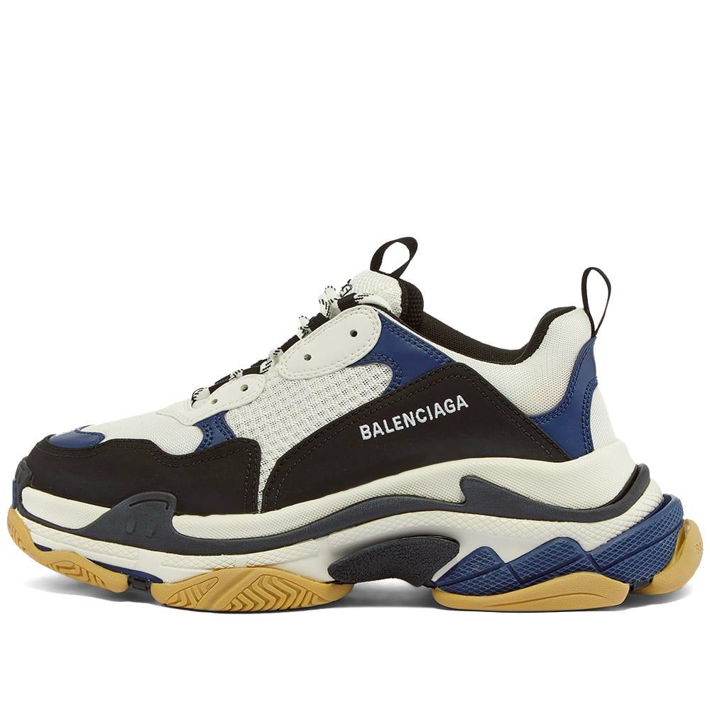 Balenciaga Triple S Sneaker White, Navy