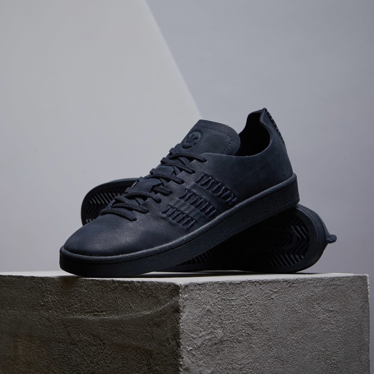 finest selection 1f789 498f9 Adidas x Wings + Horns Campus Night Navy   END.