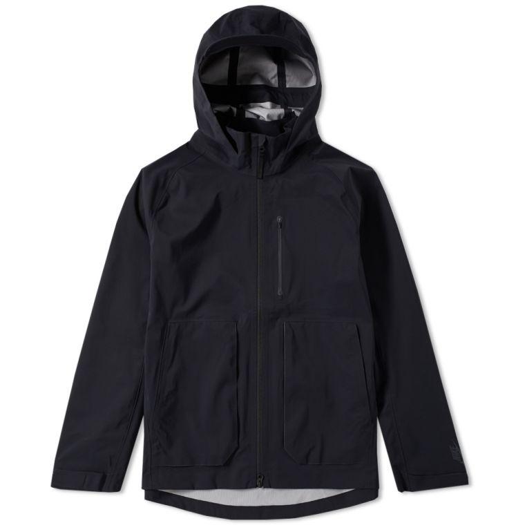 NikeLab Essentials Hooded Jacket (Black)   END.