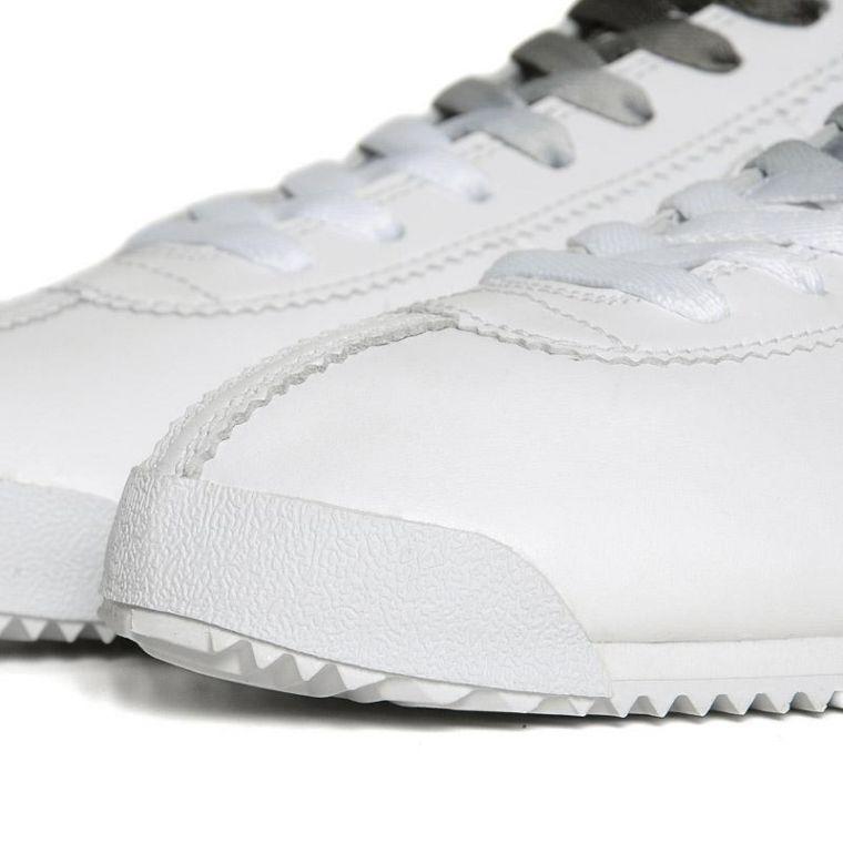 on sale cef30 acadc beautiful nike cortez men leather shoes white silver jbexdx6  nike cortez  classic og prem nrg. white black. hk729