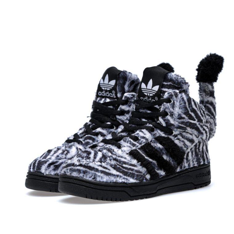 premium selection bdf36 eb405 adidas jeremy scott zebra