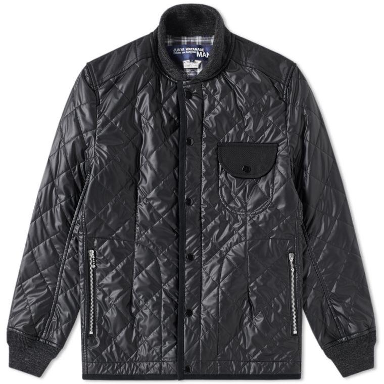 Junya Watanabe MAN x Duvetica Quilt Work Jacket (Black)