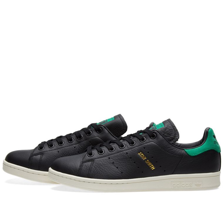 Adidas Stan Smith. Core Black \u0026 Green. \u20ac89. Plus Free Shipping