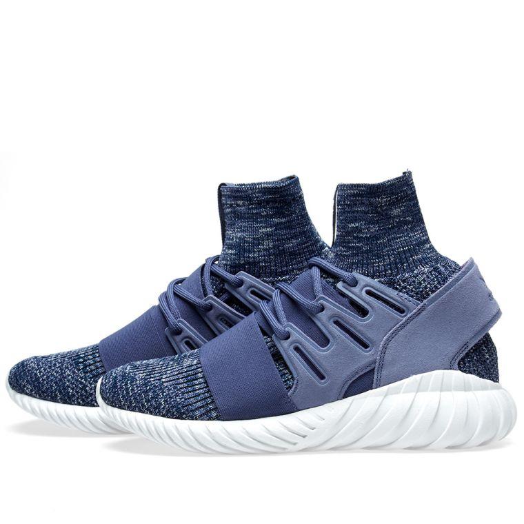 adidas Tubular Defiant Primeknit Shoes Women's Blue