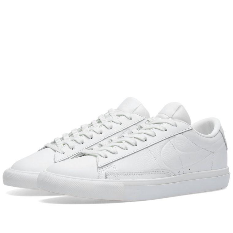 Nike Blazer Low (Summit White)  END.
