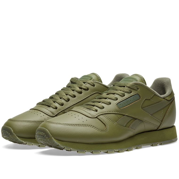 reebok classic leather solids canopy green - Green Canopy 2016