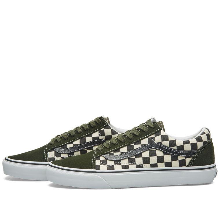 vans checkerboard old skool. vans old skool 50th anniversary. black \u0026 rosin checkerboard. ca$85. plus free shipping checkerboard a