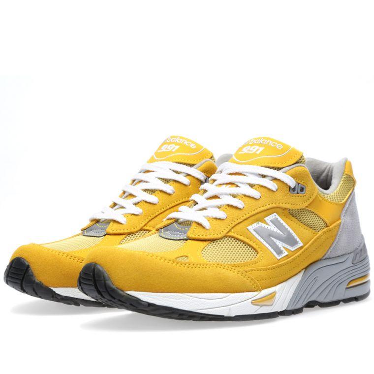 new balance 991 yellow