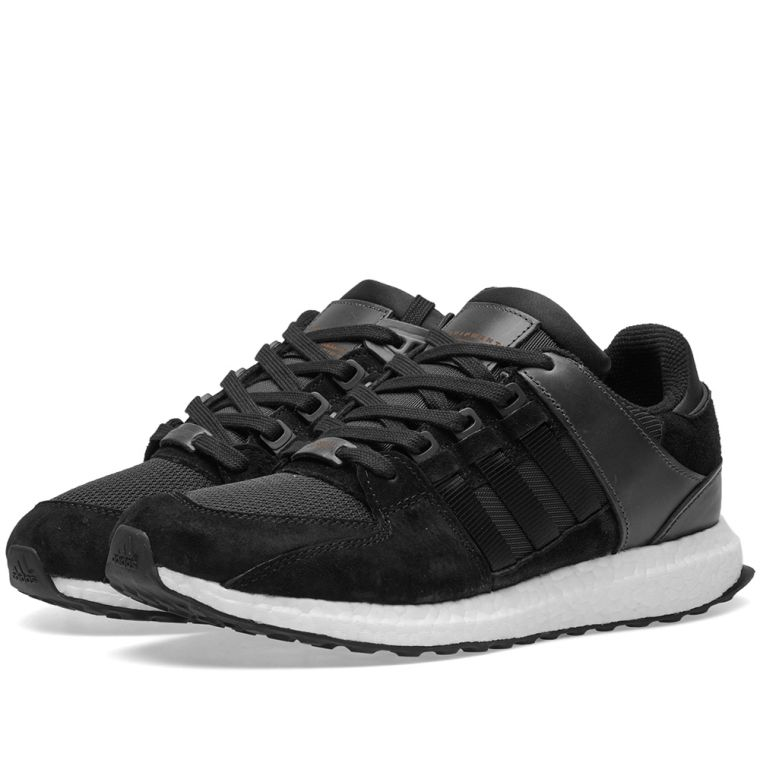 adidas EQT Support 93/17 Boost Core White Black Turbo Red Ba7473