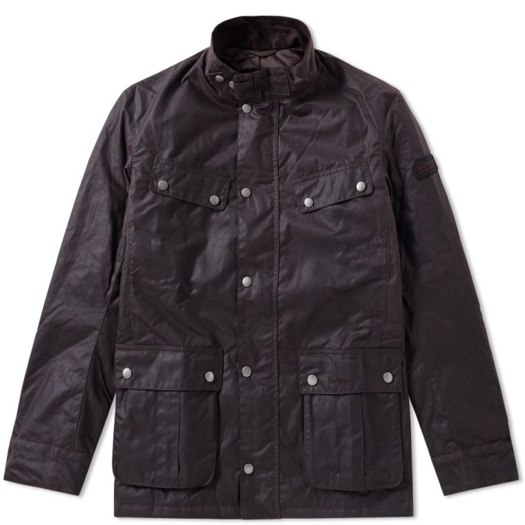 Barbour Duke Noir