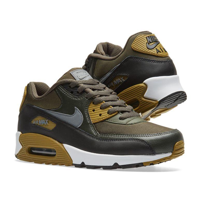 best website 642d1 8f940 ... Nike Air Max 90 Essential. Cargo Khaki, Cool Grey Black. £99.