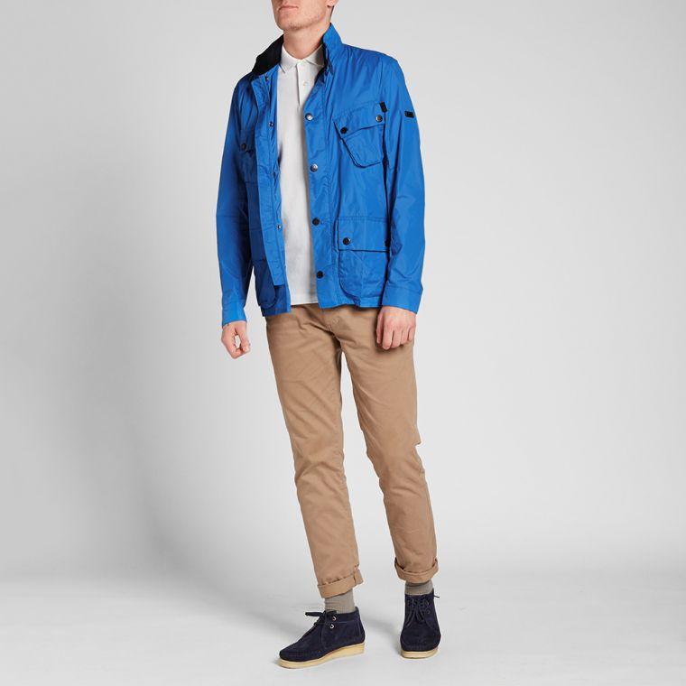 Barbour International Royal Blue