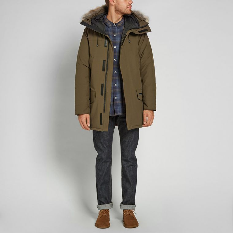 canada goose parka military green