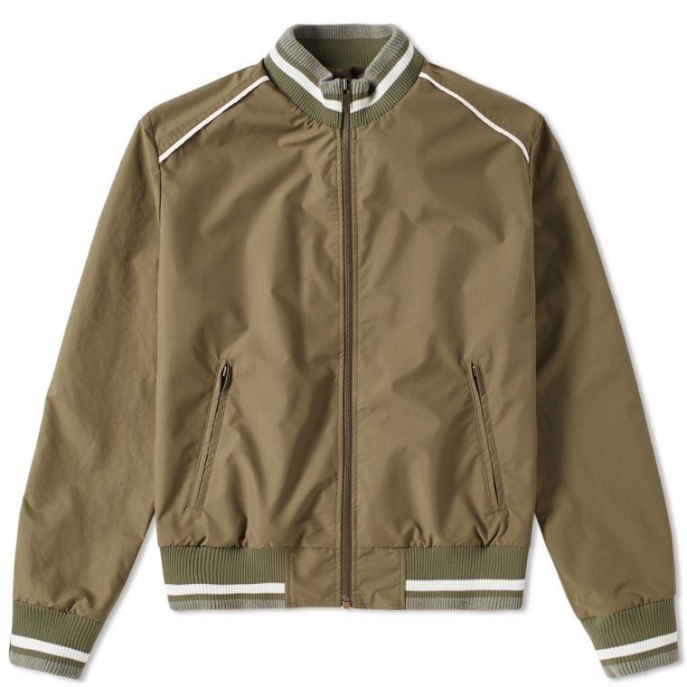 Maison Margiela 10 Matte Bomber Jacket (Military Green) | END.