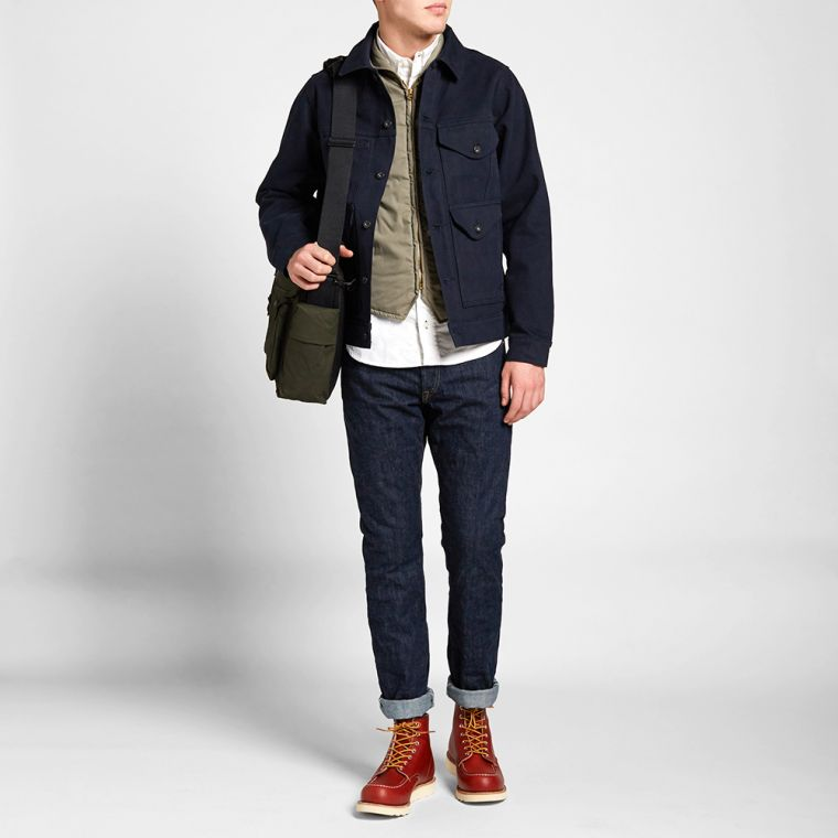 Filson Short Cruiser Jacket (Midnight Navy) | END.