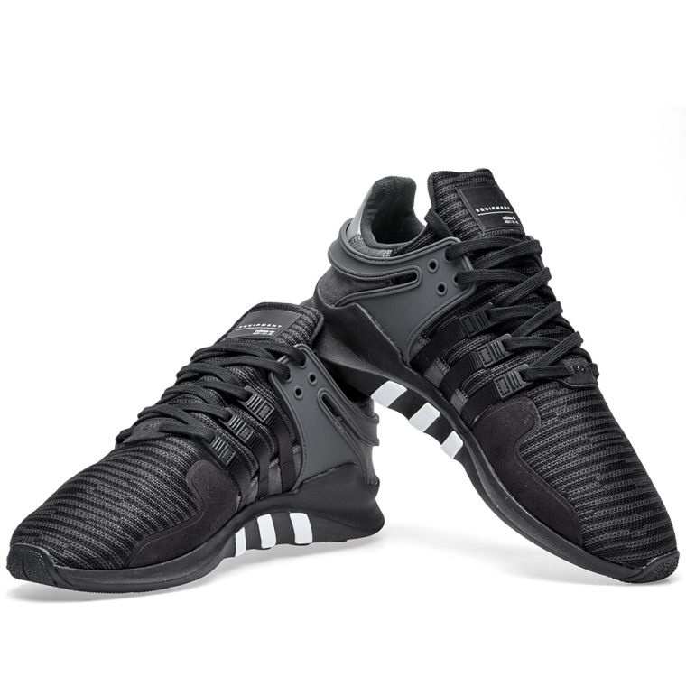 eqt support adv cblack/cblack/turbo Men