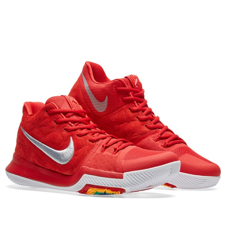sports shoes c051f dc729 Nike Kyrie 3. University Red Wolf Grey. €129.