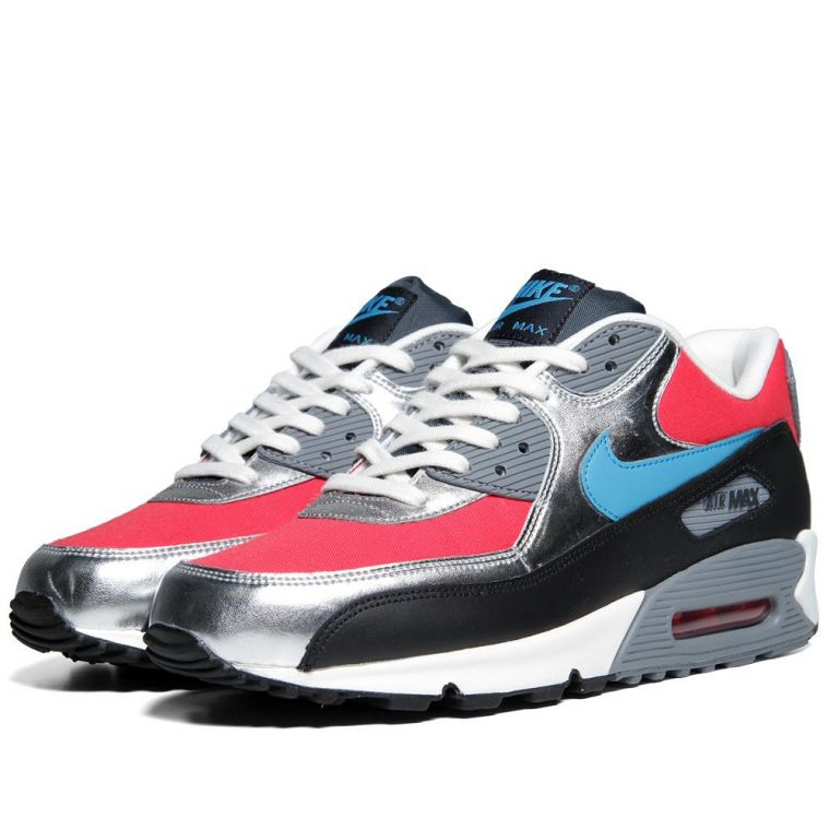 Air Max 90 Hyper Rouge Néo Turquoise & Ant