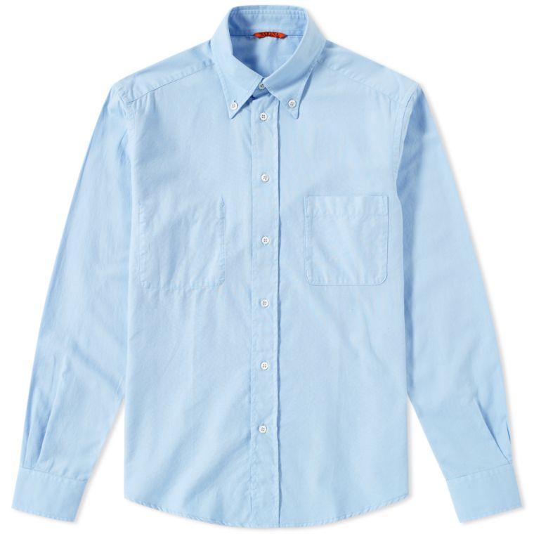 Barena Button Down Terno Oxford Shirt (Sky Blue)