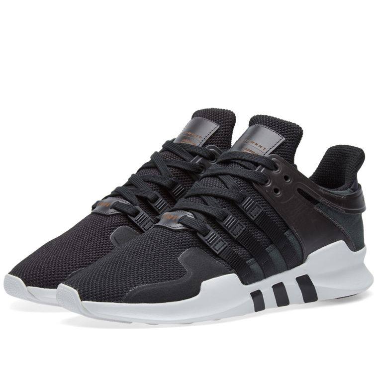 Adidas EQT Support 93/17 Boost Core White Black Turbo Red
