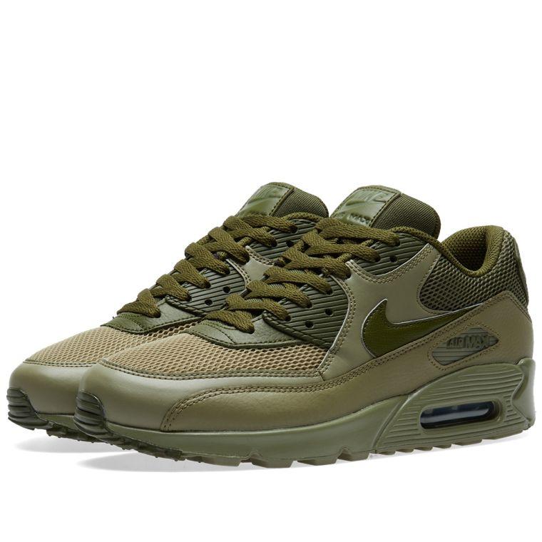 half off a42dd 846bf ... Nike Air Max 90 Essential (Trooper Legion Green) END.