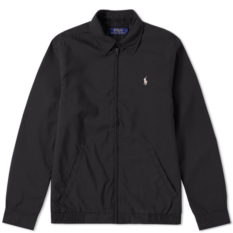 Polo Ralph Lauren Windbreaker Harrington Jacket (RL Black) | END.