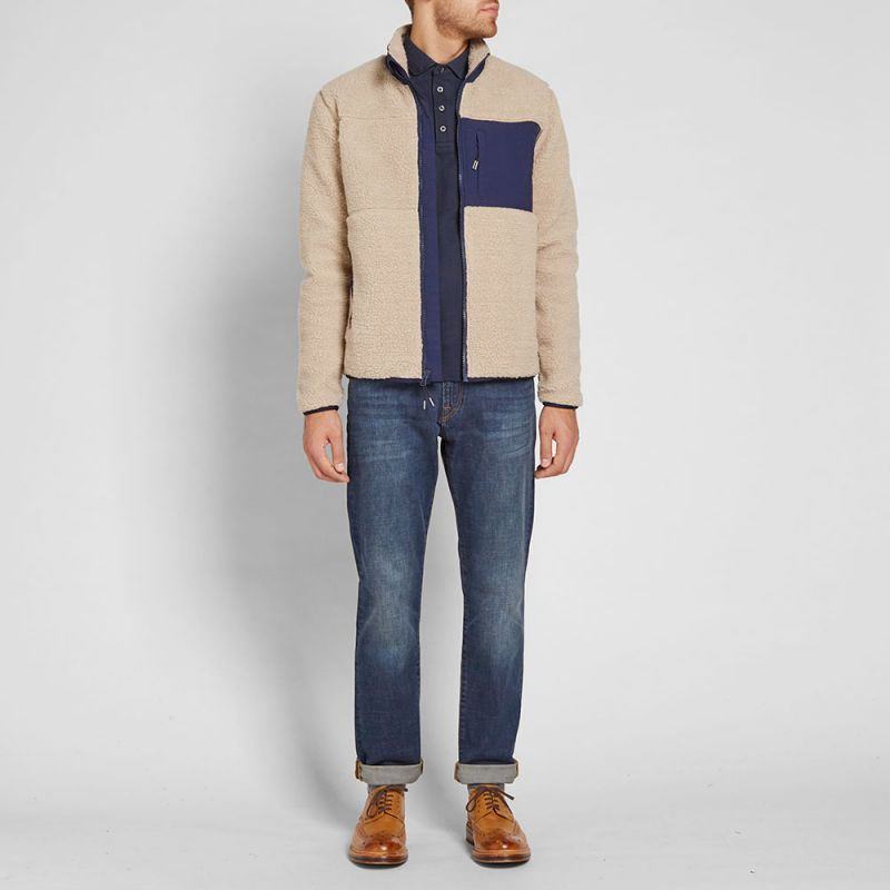 Penfield Mattawa Fleece Jacket (Tan) | END.