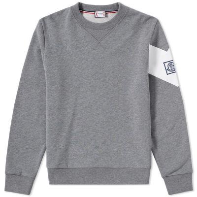 grey moncler sweatshirt