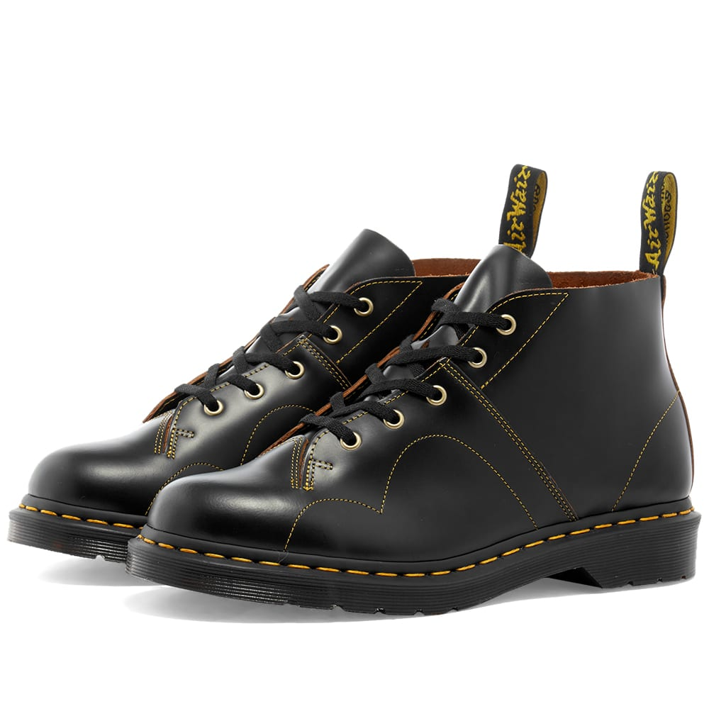Far sapere esilio Fjord  Dr. Martens Church Monkey Boot Black Vintage Smooth | END.