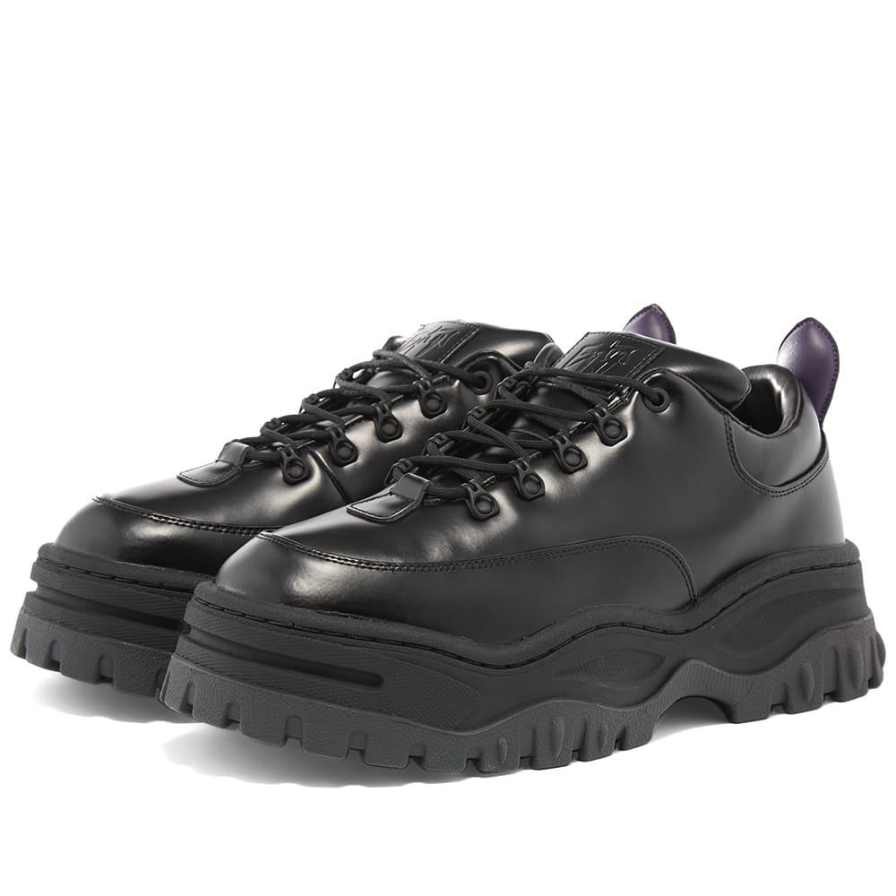 Eytys Angel Leather Sneaker Black | END.