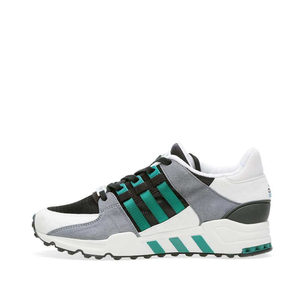 Adidas EQT Support OG Black \u0026 Sub Green