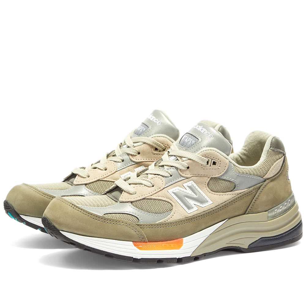 Contrato Sorprendido Mariscos  New Balance x WTAPS M992WT - Made in USA Olive Drab | END.