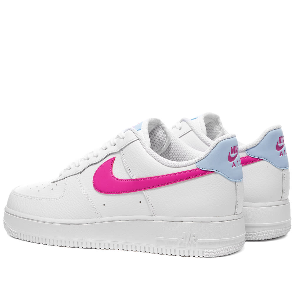 air force 1 pink and white