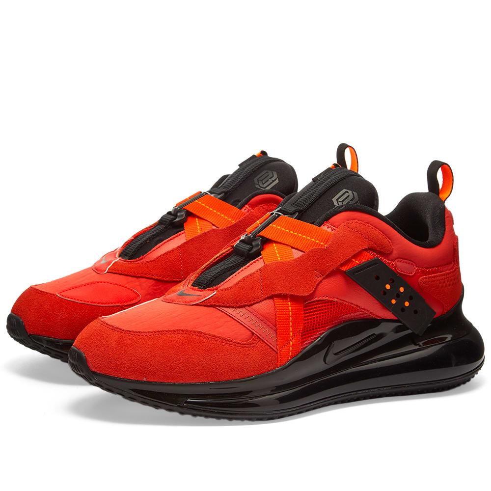 cebolla algo Desfavorable  Nike Air Max 720 OBJ Slip Team Orange & Black | END.