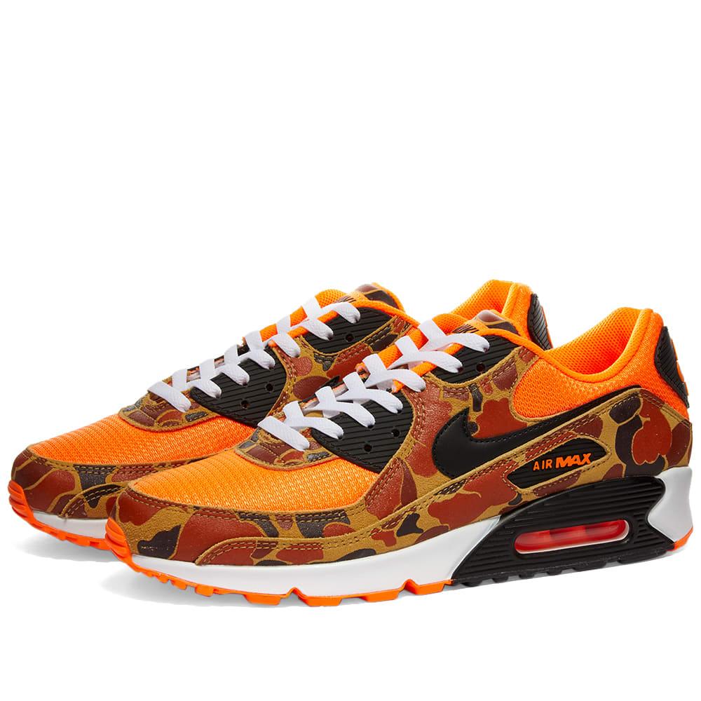 air max 90 men's orange
