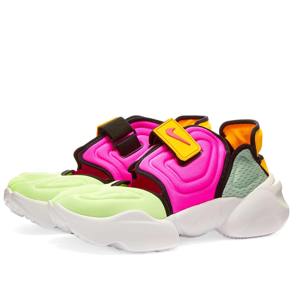 Nike Aqua Rift W Volt, Pink \u0026 Orange   END.