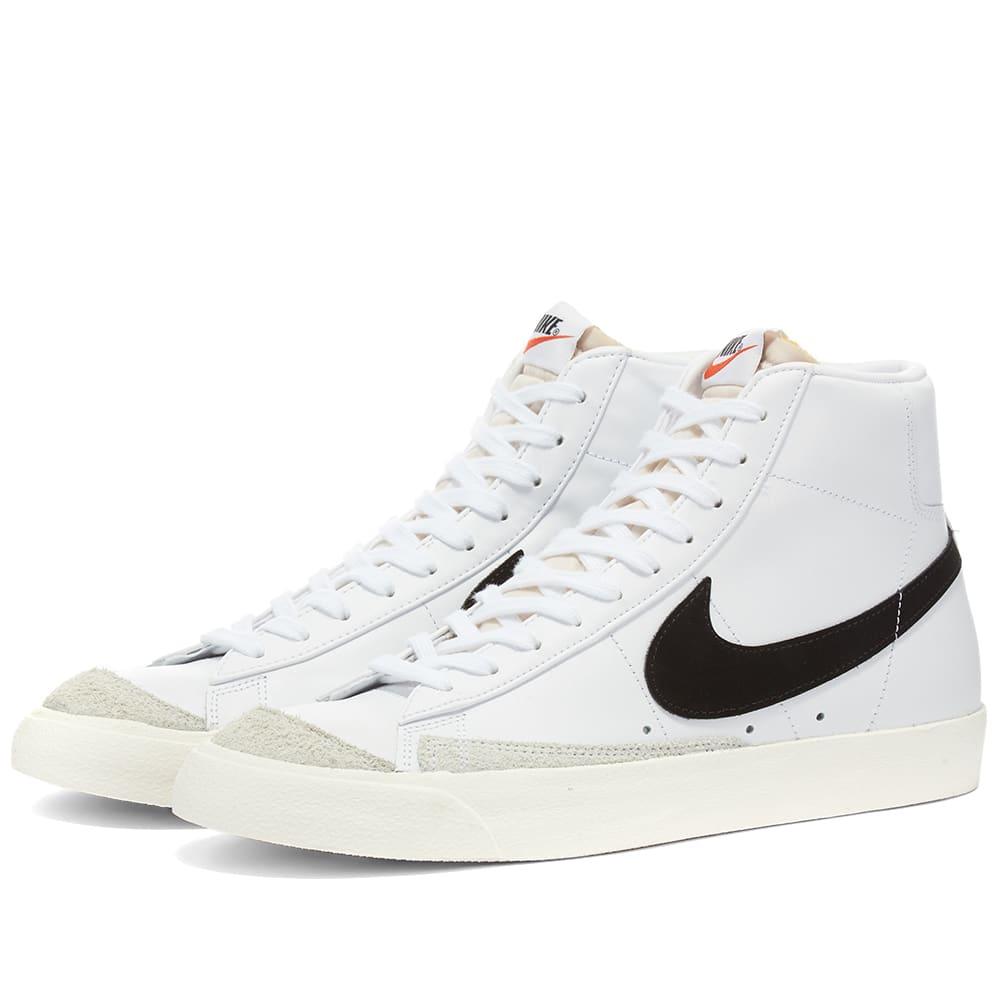 Nike Blazer Mid 77 W White \u0026 Black   END.