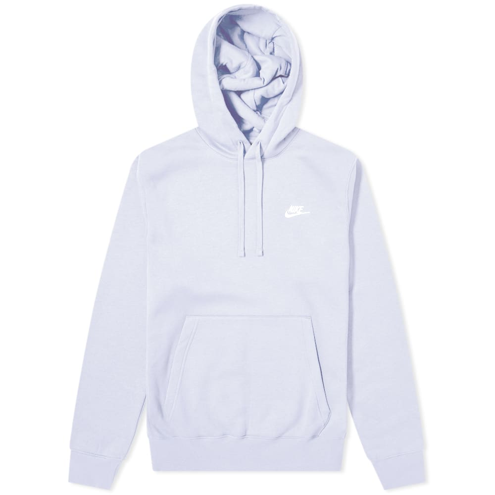 Nike Club Popover Hoody in 2020 | White nike sweatshirt