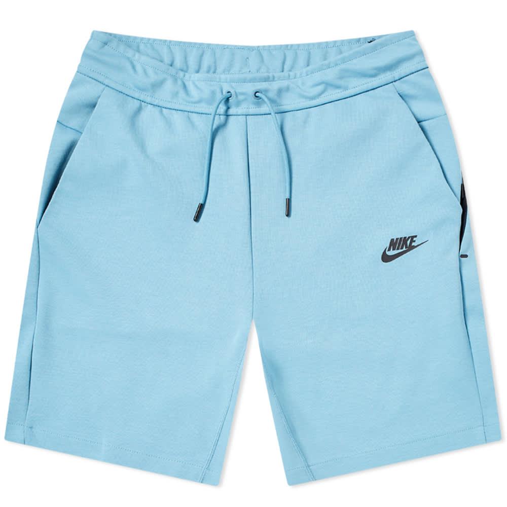 Nike Tech Fleece Short Cerulean   END.