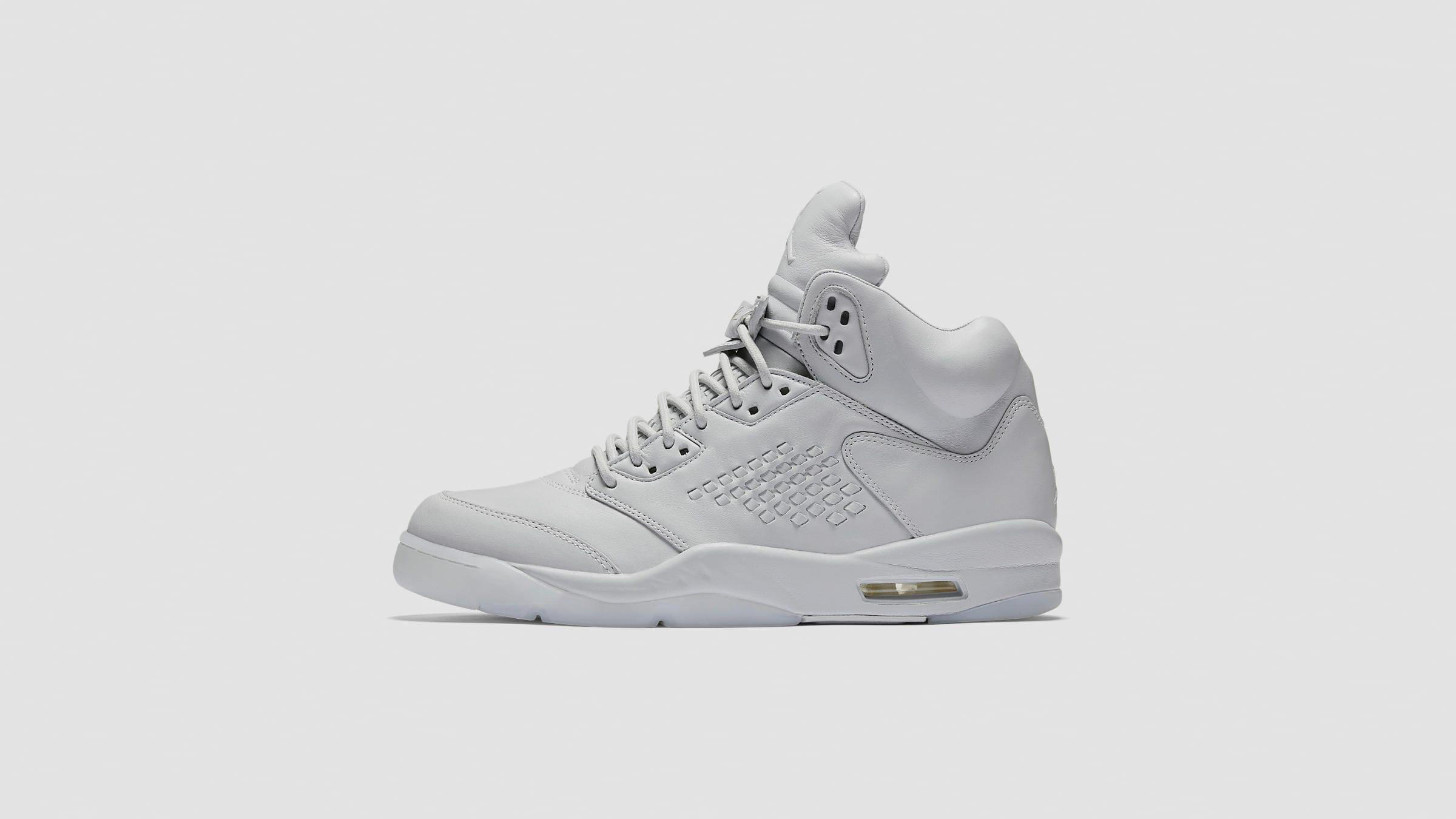 cf1f18af6278cb Nike Air Jordan 5 Premium Pure Platinum