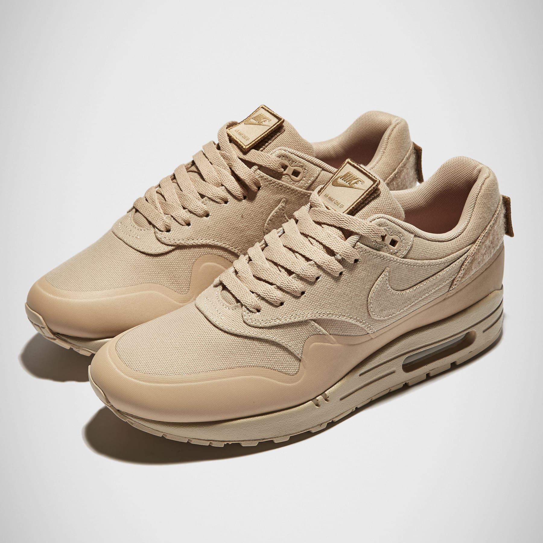 the best attitude fe35c e4dd7 Nike Air Max 1 V SP  Patch  Sand   END.