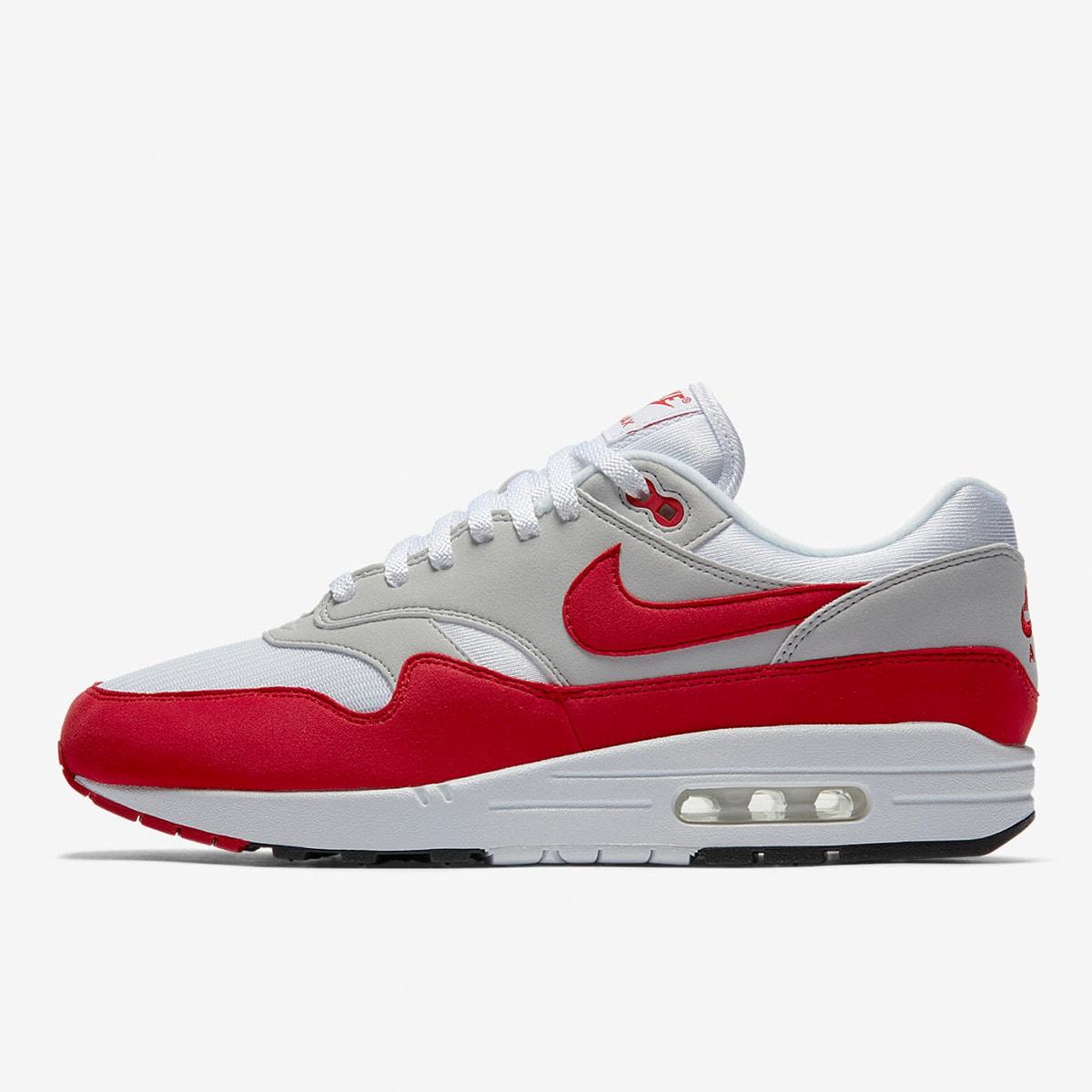 Nike Air Max 1 Anniversary (White Red Grey)