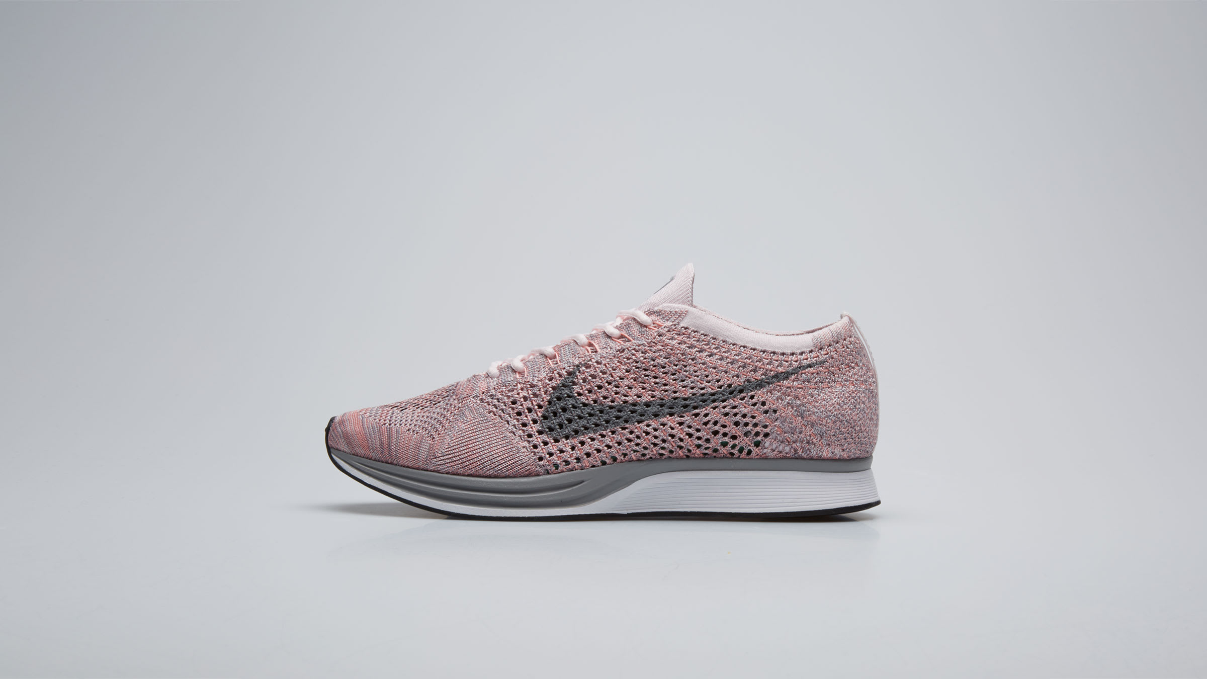 uk availability 8457f 24e77 Nike Flyknit Racer Pearl Pink   Cool Grey   END.