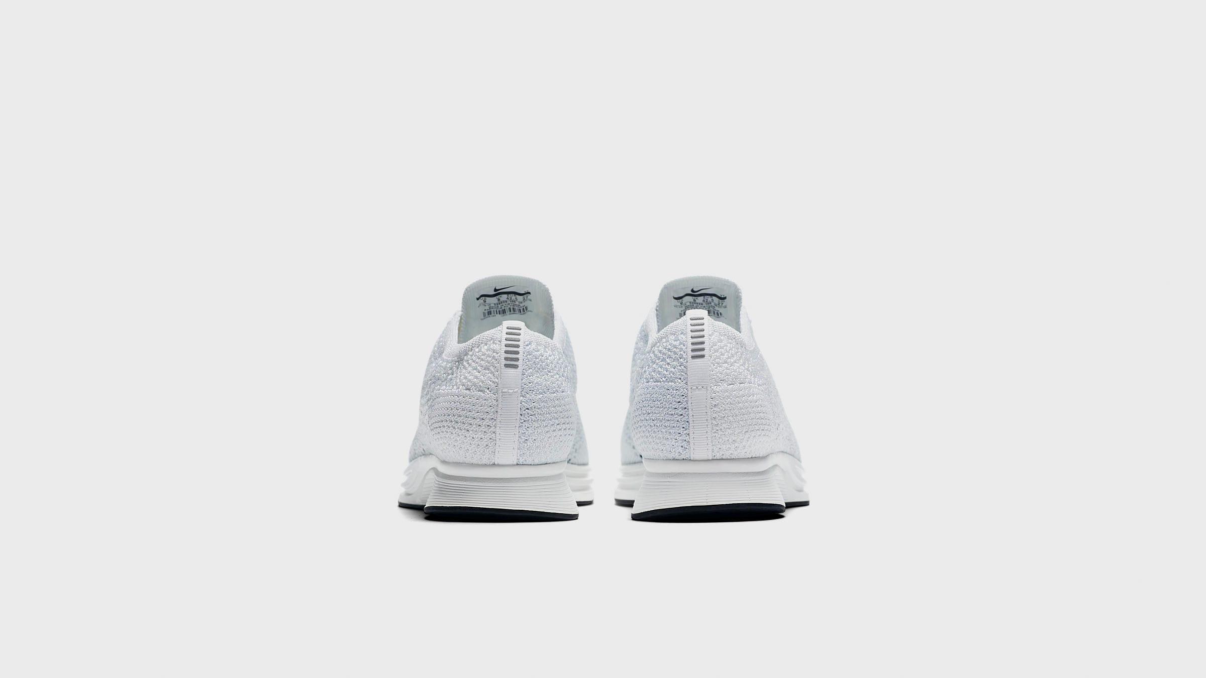 c112d1ddf4c77 Nike Flyknit Racer White   Pure Platinum